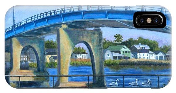 The Blue Bridge IPhone Case