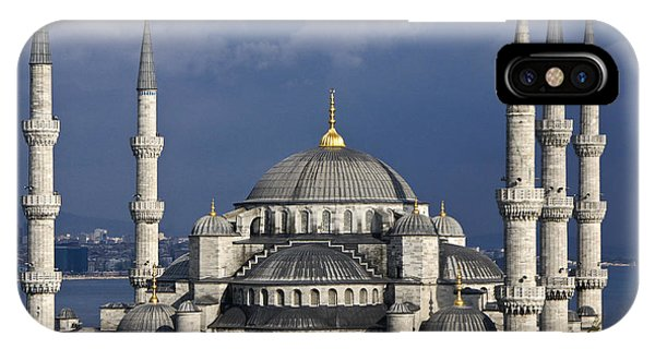 The Blue Mosque In Istanbul IPhone Case