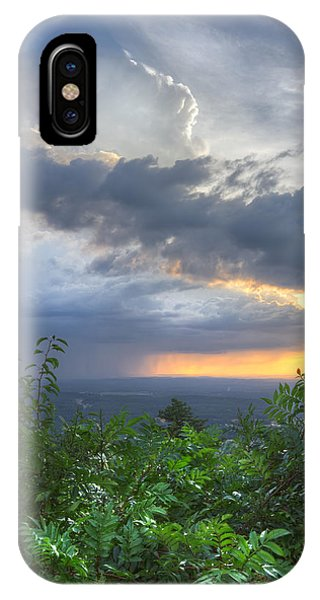 Chilhowee iPhone Case - The Blue Ridge Mountains by Debra and Dave Vanderlaan