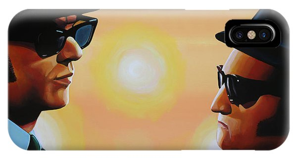 Rhythm And Blues iPhone Case - The Blues Brothers by Paul Meijering