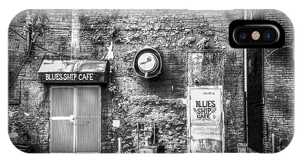 Drain iPhone Case - The Blues Ship Cafe by Marvin Spates
