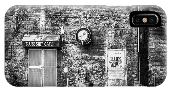 The Blues Ship Cafe IPhone Case