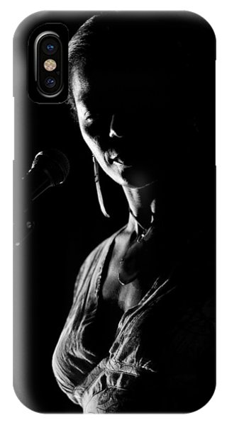 The Blues Singer IPhone Case