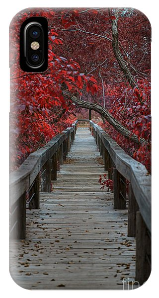 The Nature Center iPhone Case - The Boardwalk by Douglas Barnard