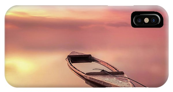 Spain iPhone Case - The Boat by Joaquin Guerola