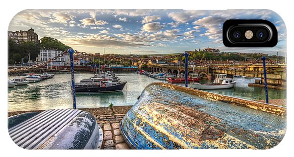 The Boats Of Folkestone IPhone Case
