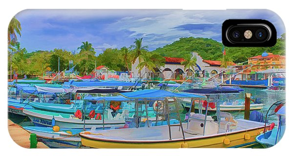 The Boats Of Hautulco IPhone Case