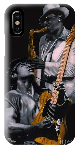 Bruce Springsteen And Clarence Clemons IPhone Case