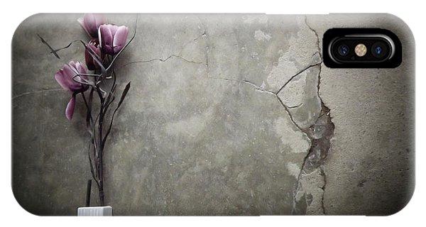 Purple iPhone Case - The Bouquet by Kahar Lagaa