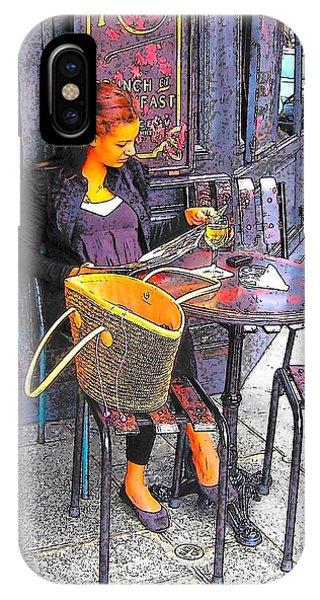 The Brasserie In Paris IPhone Case