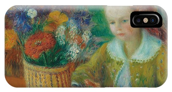 Porch iPhone Case - The Breakfast Porch by William James Glackens