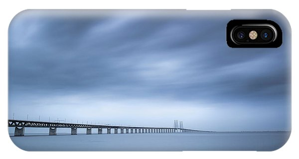 Swedish iPhone Case - The Bridge by Andreas Christensen