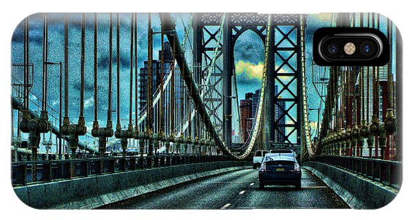iPhone Case - The Bridge by George Fredericks
