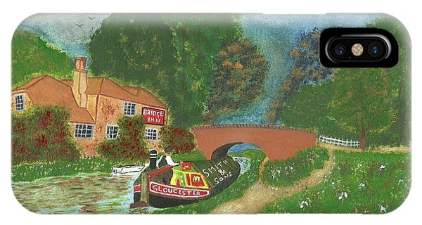 The Bridge Inn IPhone Case