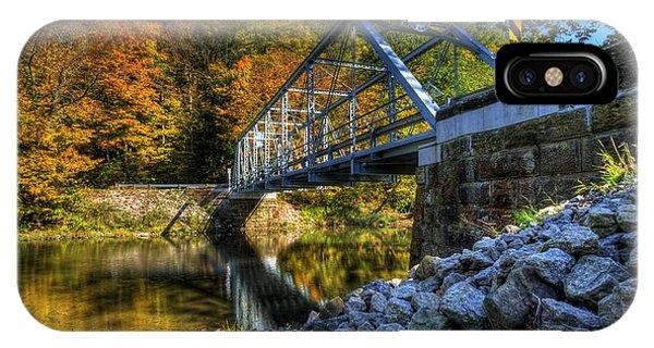 The Bridge Over Beaver Creek IPhone Case