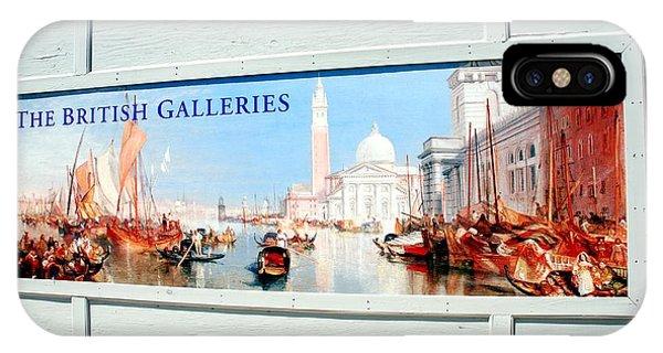 The British Galleries IPhone Case