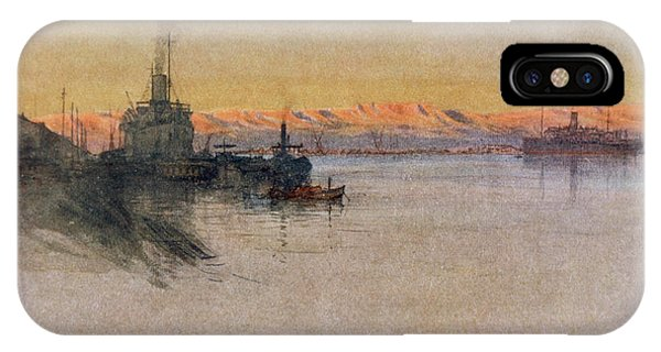 The British Transport Ships  'erma' Phone Case by Mary Evans Picture Library