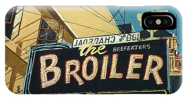 The Broiler On J Street Phone Case by Paul Guyer