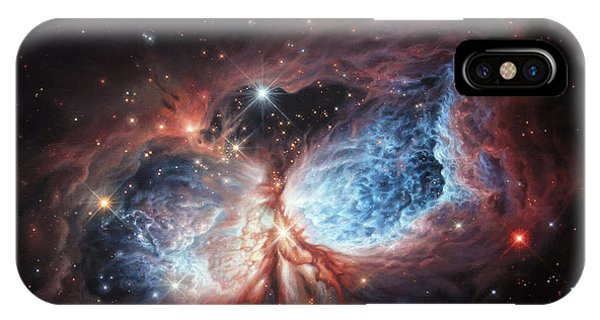The Brush Strokes Of Star Birth IPhone Case