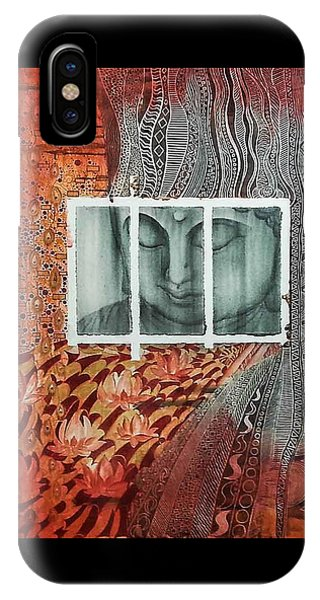 The Buddhist Color IPhone Case
