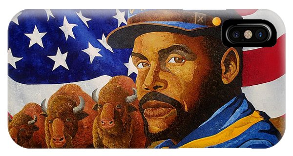 The Buffalo Soldier IPhone Case