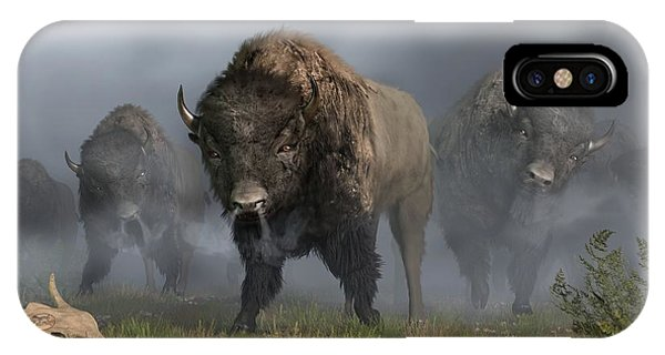 The Buffalo Vanguard IPhone Case