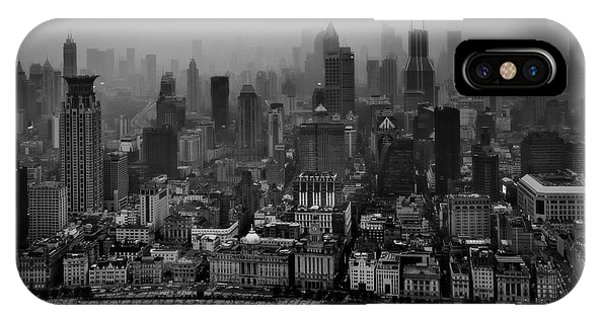 Chinese iPhone Case - The Bund by C.s. Tjandra