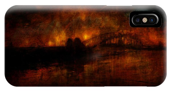 The Burning Of Sydney IPhone Case