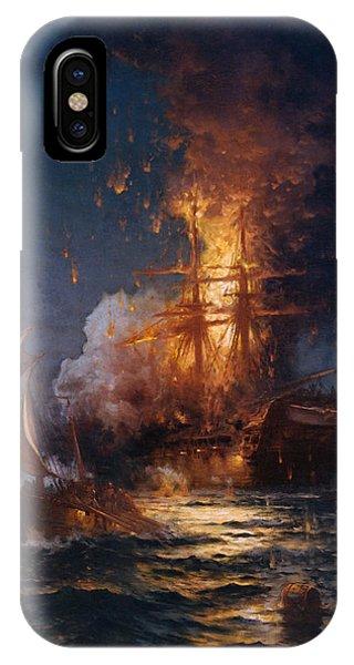 The Burning Of The Philadelphia IPhone Case