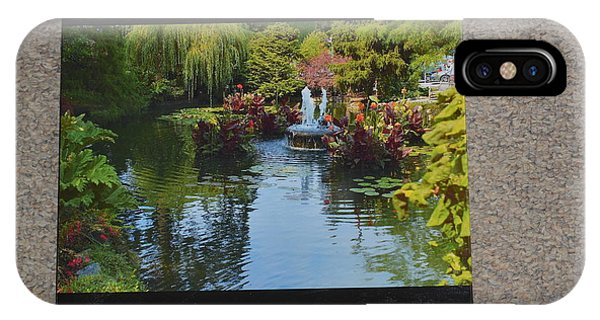 The Butchart Gardens - Photos By Lawrence Christopher IPhone Case