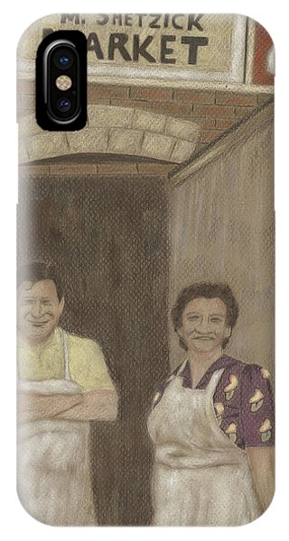 The Butcher And His Wife  IPhone Case