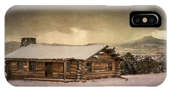 The Cabin At Ghost Ranch IPhone Case