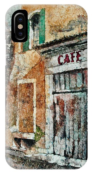 The Cafe Is Closed IPhone Case