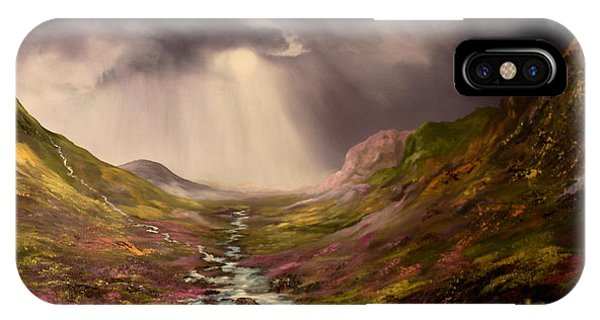 The Cairngorms In Scotland IPhone Case