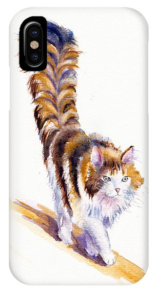 The Calico Cat That Walked By Himself IPhone Case