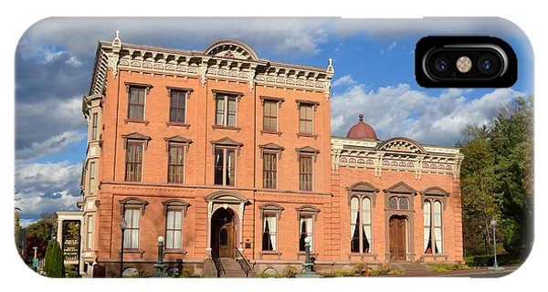 The Canfield Casino Saratoga Springs IPhone Case