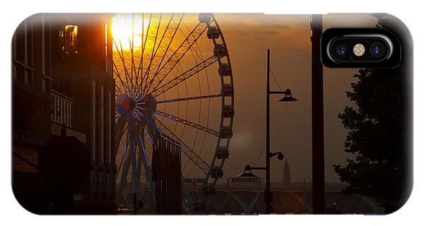 The Capital Wheel In National Harbor IPhone Case