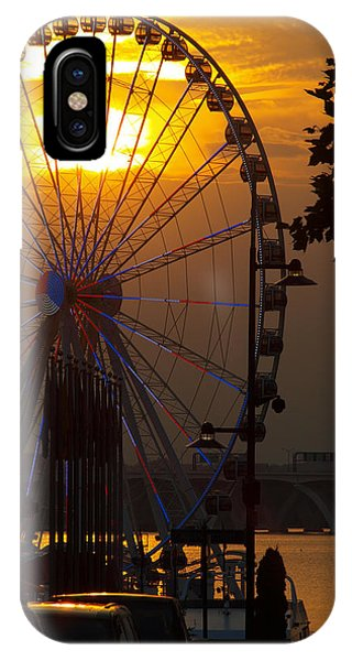 The Capital Wheel IPhone Case