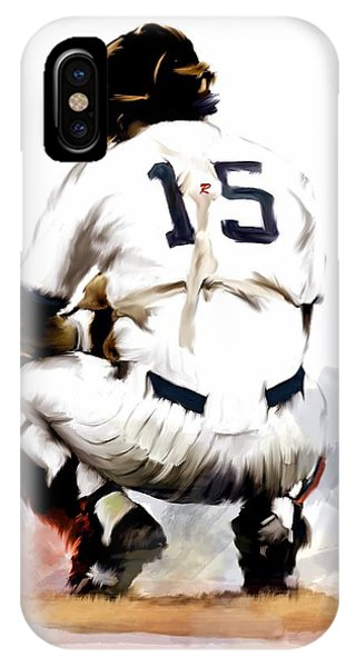 The Captain  Thurman Munson IPhone Case