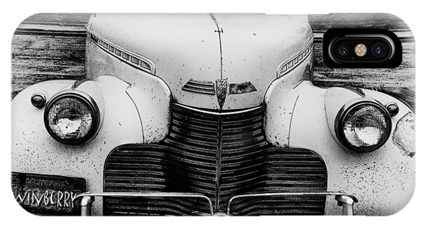 The Car In Texas IPhone Case