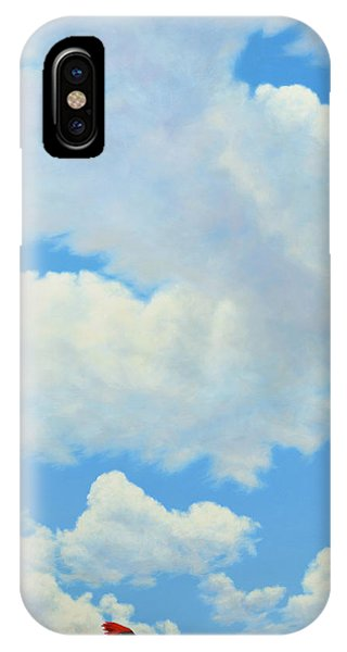 Cardinal iPhone Case - The Cardinal by James W Johnson