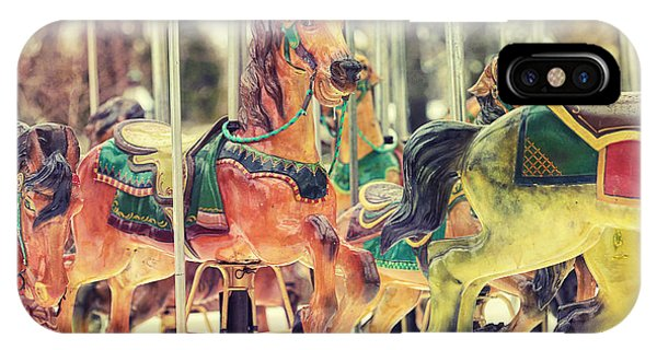 Carousel iPhone Case - The Carousel by Carrie Ann Grippo-Pike