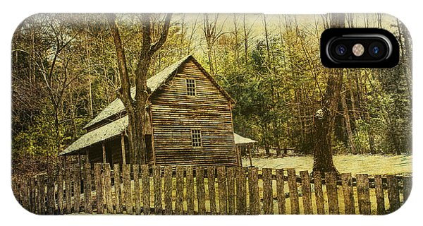 The Carter Shields Cabin In Cades Cove In The Smokey Mountains IPhone Case