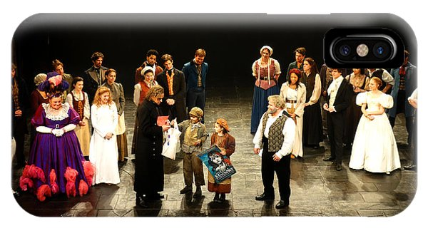 The Cast Of Les Miserables IPhone Case