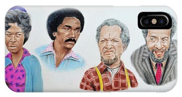 The Cast Of Sanford And Son  IPhone Case