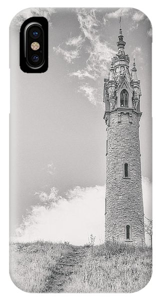 Castle iPhone X / XS Case - The Castle Tower by Scott Norris