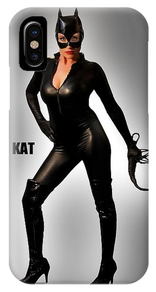 Kat Vgirl Pinup IPhone Case
