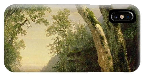 Mountainous iPhone Case - The Catskills by Asher Brown Durand