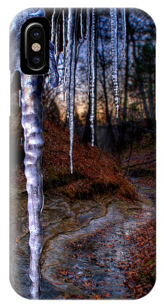 The Cave Of The Crystal Daggers IPhone Case