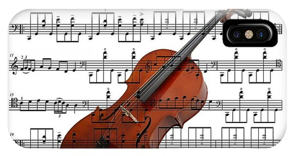 The Cello IPhone Case